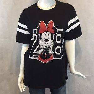 Minnie mouse 28 black jersey Disney size large